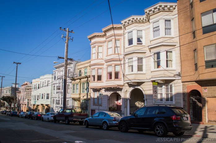 San Francisco Colorful Houses