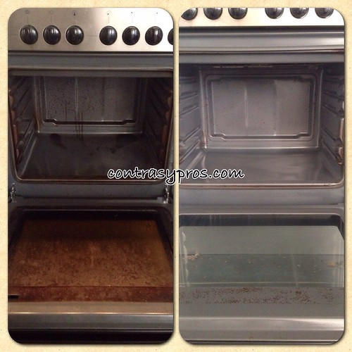 limpar el horno, síndrome del nido