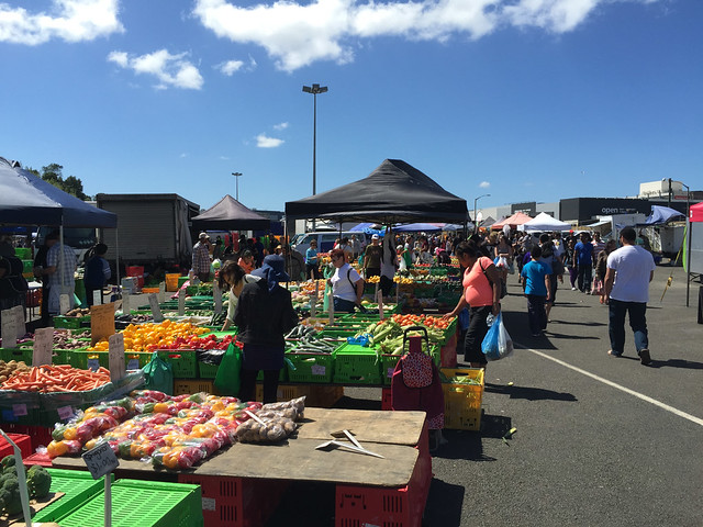 Lower Hutt Vege Market