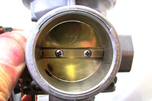 Throttle Plate Alignment with Minimal Gap All Around the Plate