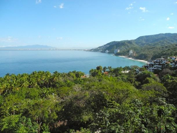 View from Garza Blanca