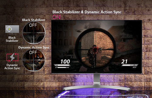 Black Stabilizer และ Dynamic Action Sync คมชัดแม้จะมุมมืดของเกม