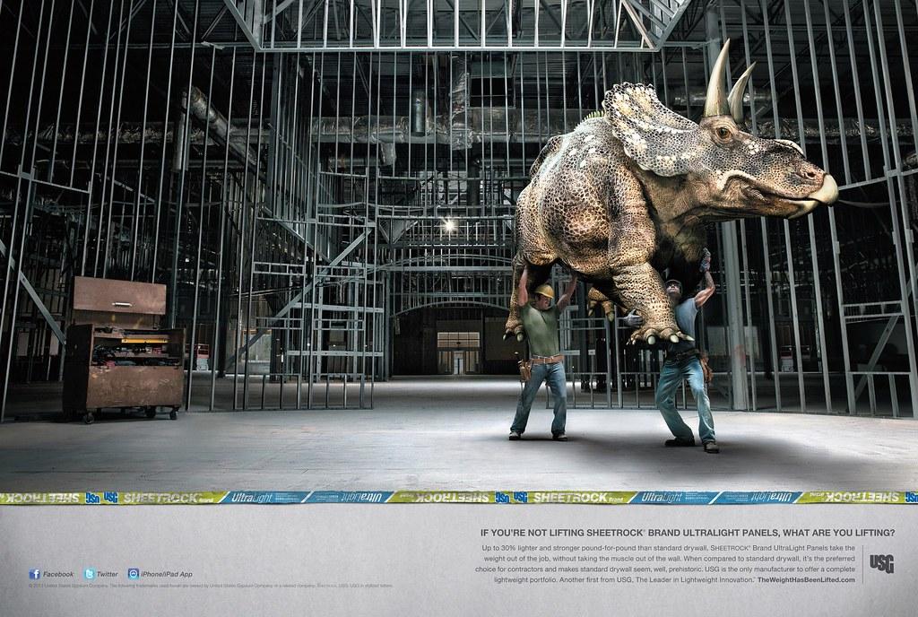 USG Corporation - Dinosaur