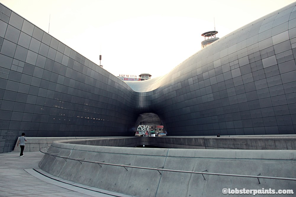 6 October 2014: Dongdaemun Design Plaza 동대문디자인플라자 | Seoul, South Korea