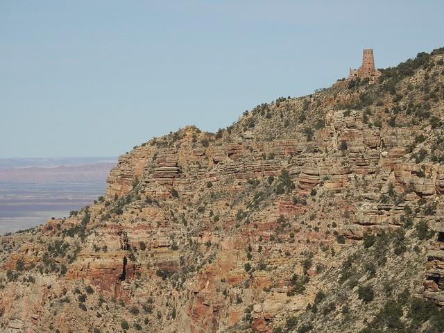 Часовая башня. Гранд каньон - фото на Nikon P900