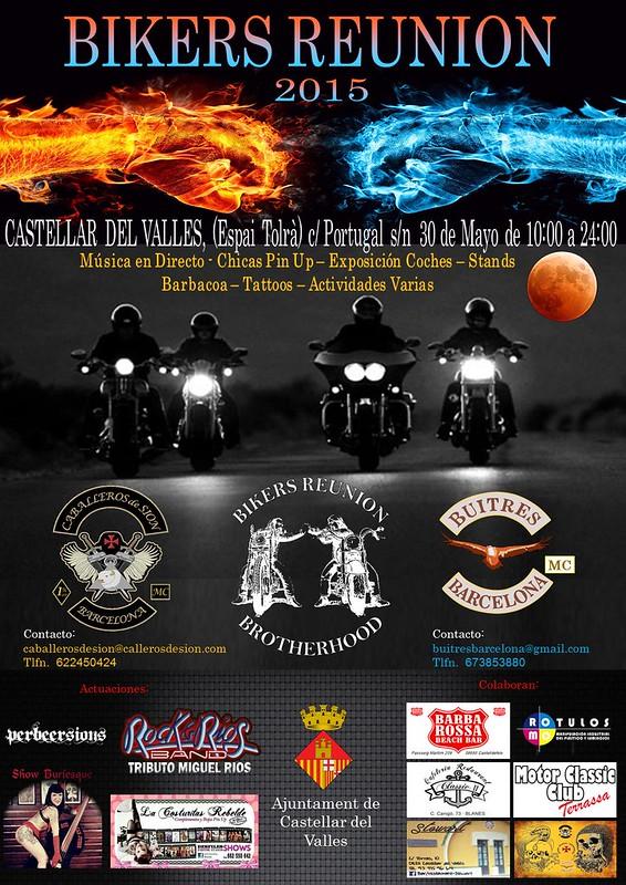 Bikers Reunión 2015 - Castellar del Vallés