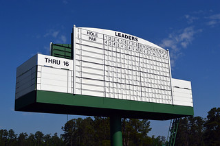 Augusta National Leaderboard