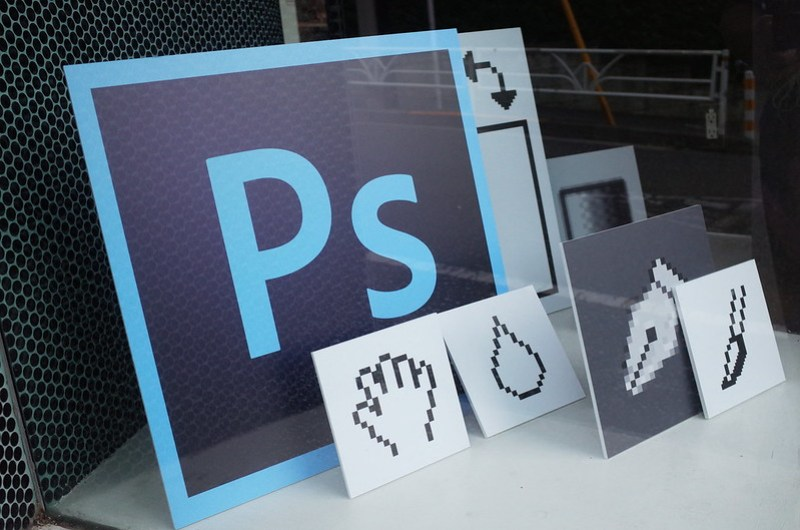 Inside Photoshop - Photoshop 25th Anniversary Exhibition-#PS25 #CC