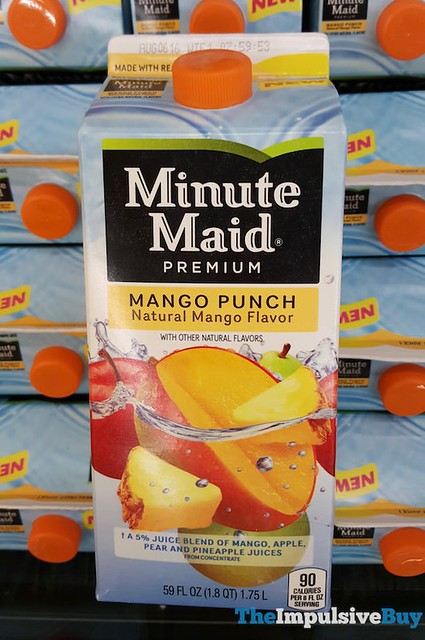 Minute Maid Mango Punch