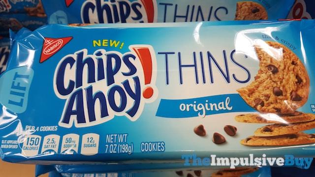 Chips Ahoy Thins Original