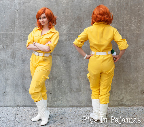 April O'Neil Cosplay