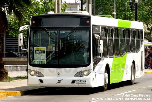 Transantiago - Buses Gran Santiago - Caio Mondego L / Volvo (CCPX43)