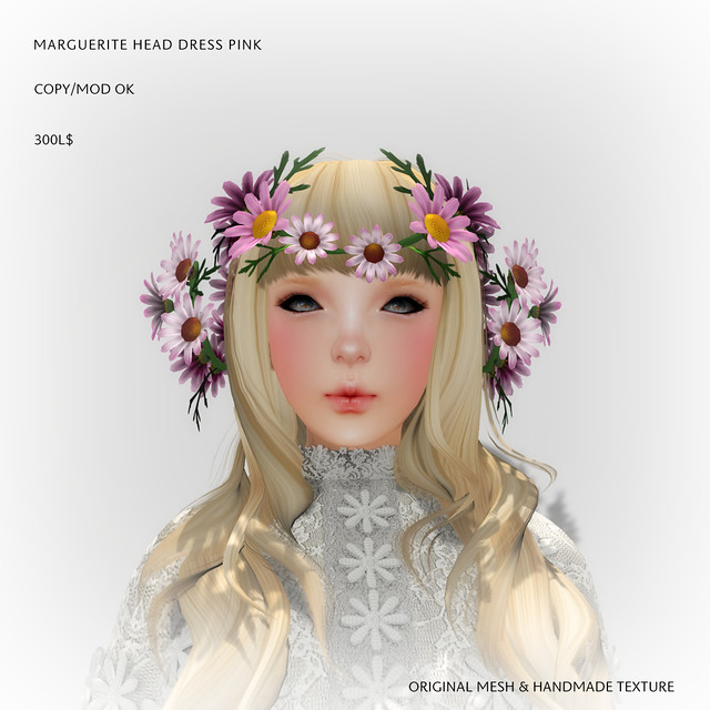 *NAMINOKE*MARGUERITE HAIR DRESS