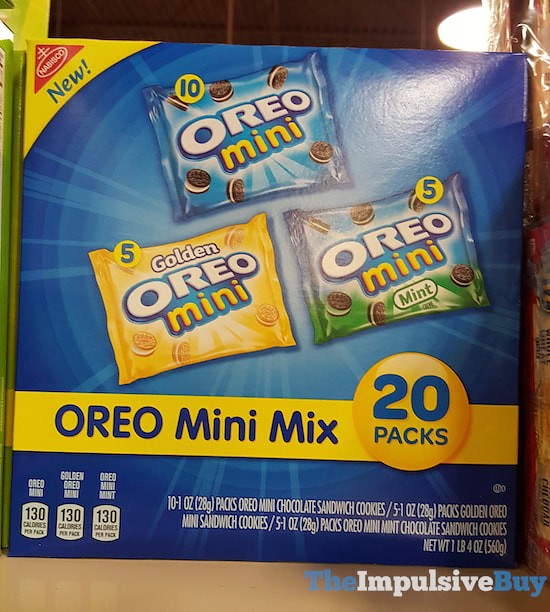 Nabisco Oreo Mini Mix