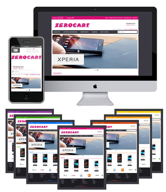 Free Download Zerocart Responsive Opencart Theme