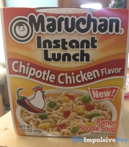 Maruchan Chipotle Chicken Instant Lunch