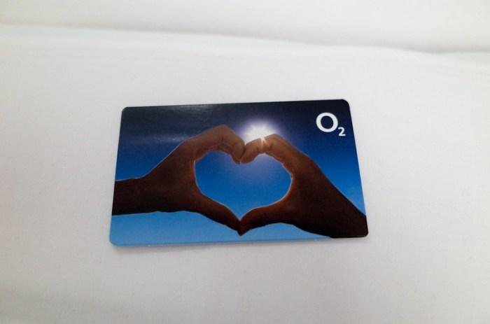 O2 的預付卡