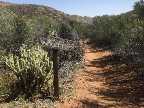 Sign for the Third Gate Water Cache