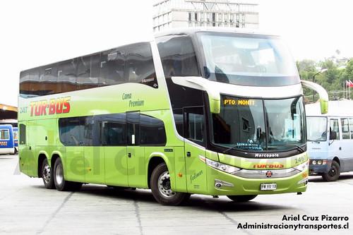 Tur Bus - Puerto Montt - Marcopolo Paradiso 1800 DD / Mercedes Benz (FWVX13)