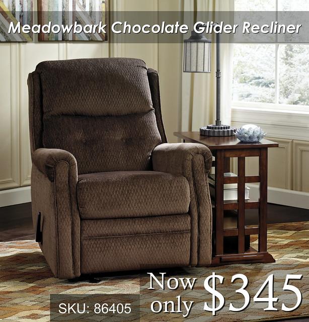 Meadowbark Choclate Recliner