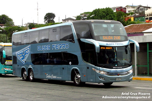 Buses Fierro - Puerto Montt - Marcopolo Paradiso 1800 DD / Volvo (GZJX79)