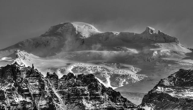 Hvannadalshnúkur the highest point in Iceland (2110m)