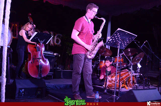 Ubud Village Jazz Festival 2016 - Energetic Zen Quartet (4)