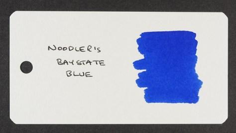 Noodler's Baystate Blue - Word Card