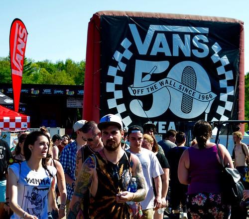 Mansfield, MA, Warped Tour 2016.