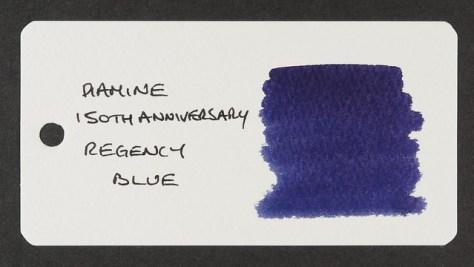 Diamine 150th Anniversary Regency Blue - Word Card