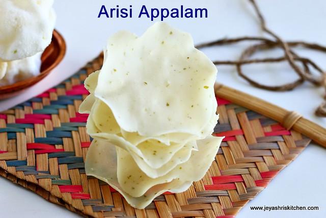 arisi-appalam