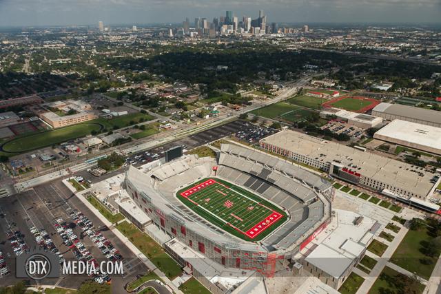 University of Houston Stadium Aerials