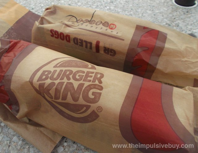 Burger King Grilled Dogs 1