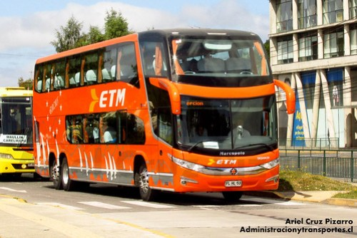 Buses ETM - Puerto Montt - Marcopolo Paradiso 1800 DD / Scania (FLHL53)