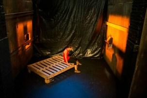 """El Centro de Investigación presentará la obra """"Ausencia. El lugar en el que habita"""" resultado de la residencia de la actriz tapatía Ilse Orozco."""