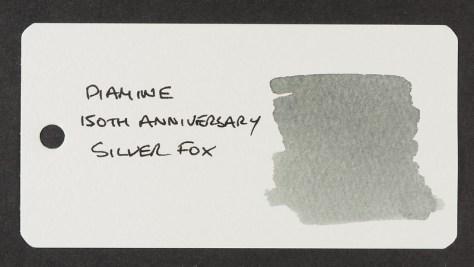 Diamine 150th Anniversary Silver Fox - Word Card