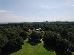 aerial shot Drielandenpunt