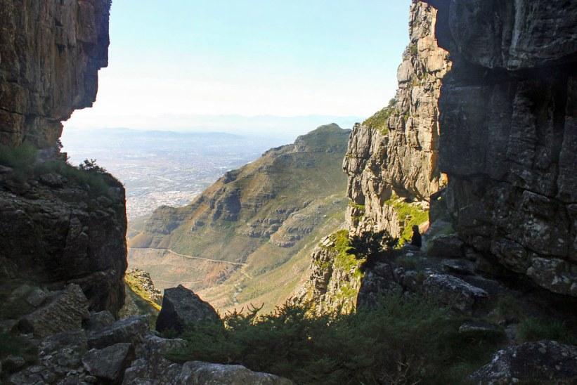 Plettenberg sti på vej op af Table Mountain