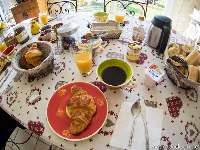 Breakfast in Cramant France