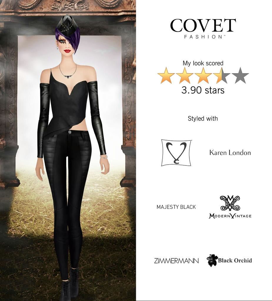My Look Scored Stars In The Demon Hunter Challenge In Covet Fashion