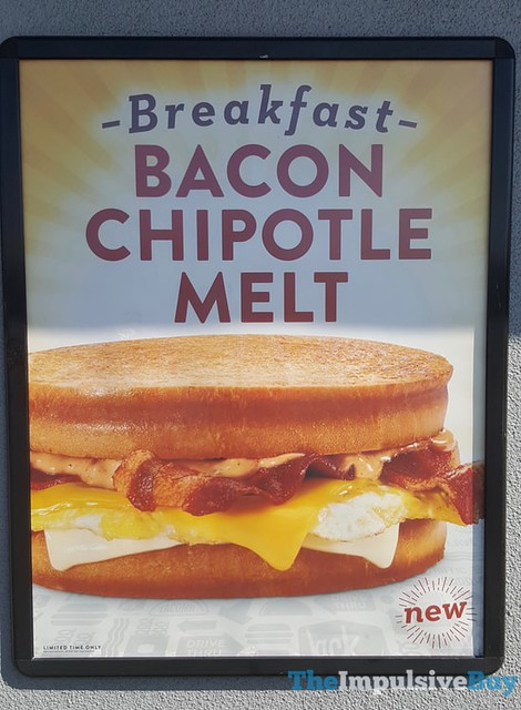 Jack in the Box Breakfast Bacon Chipotle Melt