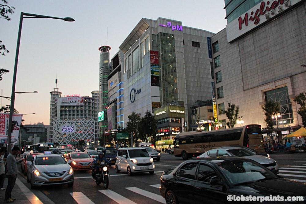 6 October 2014: Dongdaemun 동대문   Seoul, South Korea