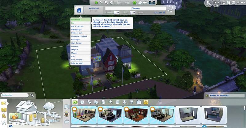 Les Sims 4 à l'école