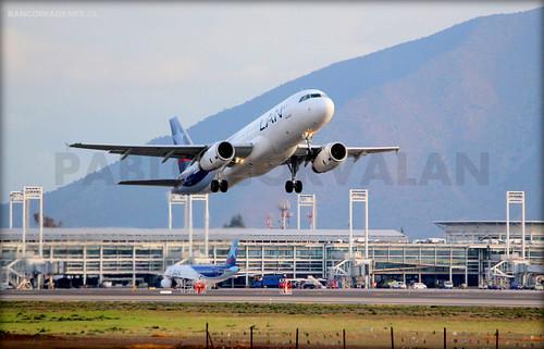 LAN - A320 CC-BAK - SCL / AEP