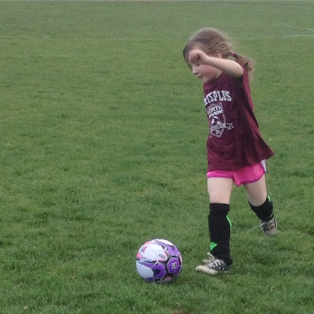 April 29, 2015 ~ Learning to Dribble (1/2)