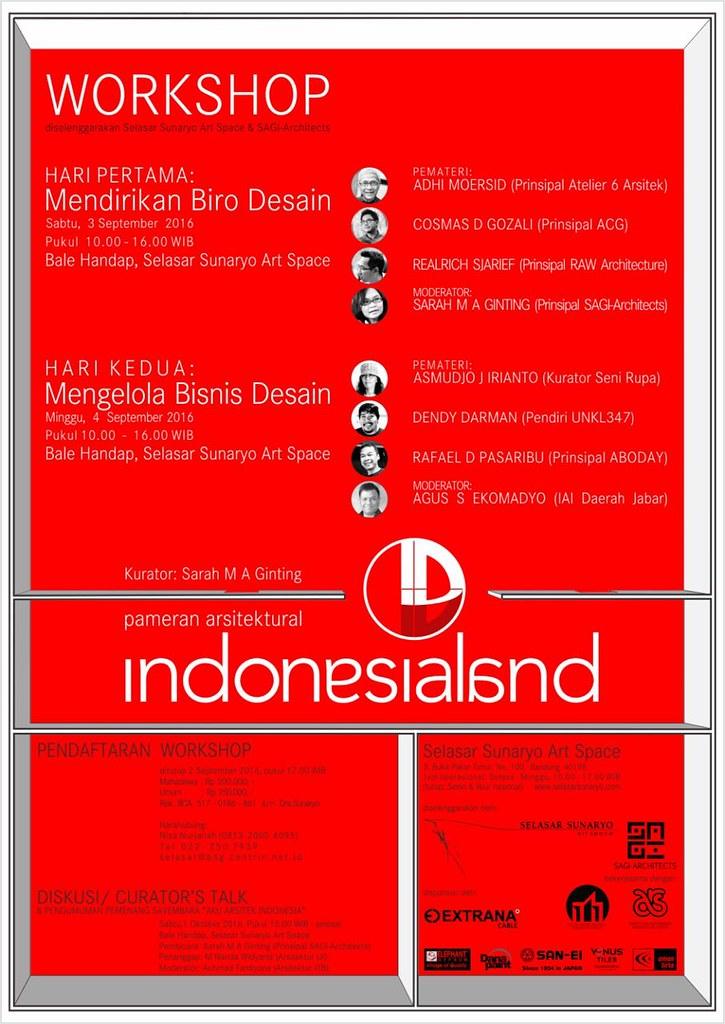 Pameran arsitektur SAGI Architects, Indonesialand, Selasar Sunaryo