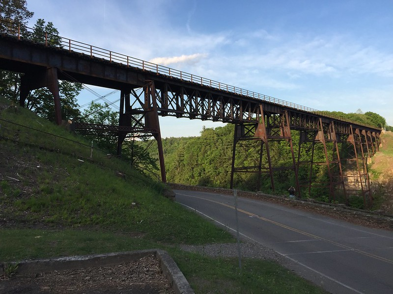 Farewell to the trestle