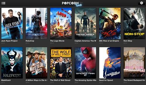 Popcorn Time для iPhone и iPad: торренты на iOS