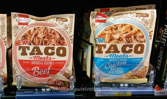 Hormel Taco Meats (Shredded Beef and Shredded Chicken)