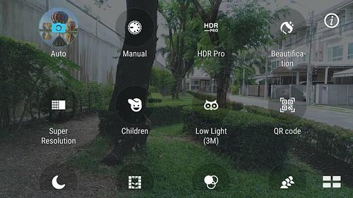 โหมดถ่ายรูปต่างๆ บน ASUS Zenfone 3 ZE520KL